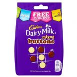 Cadbury Mixed Buttons Bag 115g